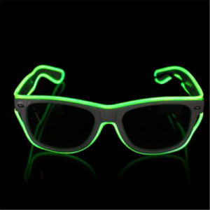 Voice Control LED EL Sunglasses pictures & photos