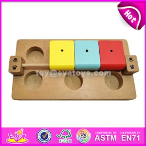 Best Interactive Pets Feeder Hide and Seek Toys Wooden Brain Games for Dogs W06f042 pictures & photos