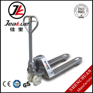 Grade 316 Stainless Steel 2000 Kg Hand Pallet Truck pictures & photos