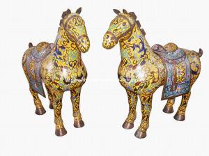 Cloisonne Horse (JW033) pictures & photos