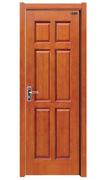 Natural Wood Veneer Engineered Wooden Door for House (HDB-012) pictures & photos