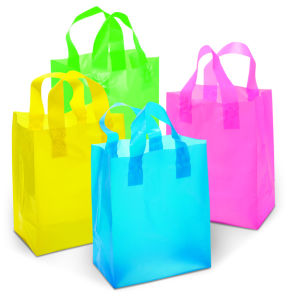Polythene Loop Handle Plastic Bags pictures & photos