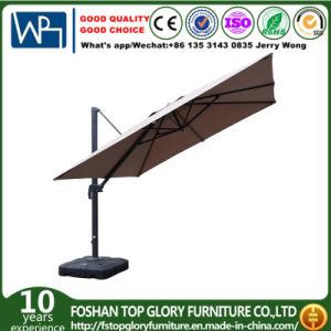 Square Polyester Top Roman Umbrella with Aluminium Alloy Frame Outdoor Garden Umbrella (TGTA-002) pictures & photos