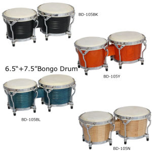 "6.5""-7.5"" Bongo Drum (BD-105) pictures & photos"