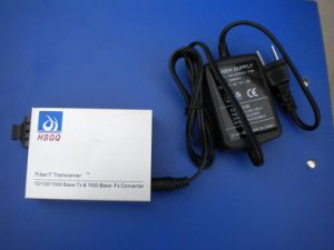 Fiber Optic Media Converter- SC Ports Dual Fiber - 2KM