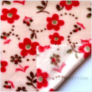 100% Polyester Printed Polar Fleece Knitting Fabric