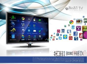 Yihai 42 Inch LED TV with 4.0.1 Android System