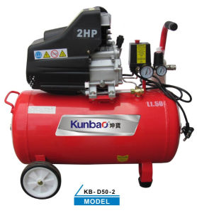 Direct-Drive Piston Type Air Compressor (KB-D50-2)