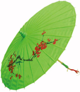Hand Made Arts Umbrella Parasol With Bamboo Rib (YHS-002)