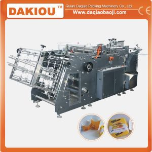 High Speed Paper Folding Lunch Box Making Machine pictures & photos