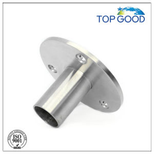 Handrail Post Satin Finish Bottom Plate pictures & photos