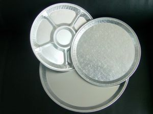 Round Foil Container Food Mould pictures & photos