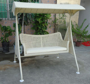 Home Garden Rattan Swing Chair (Sw02001) pictures & photos
