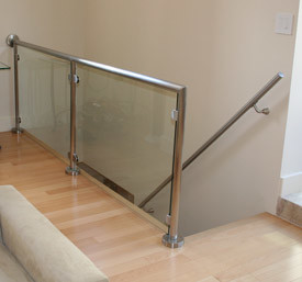 Tempered Glass for Stair Railing