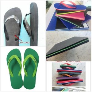Beach Slipper Soling Sheets Flipflop Soling Sheets EVA +PE Foam Sheets pictures & photos
