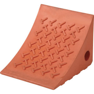 Orange Color PU Wheel Chock 1.2kg