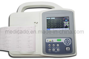 Electrocardiograph ECG Machine with High Quality (QDMH-009) pictures & photos