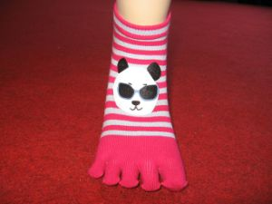 Ladies′ Five Toe Socks 2