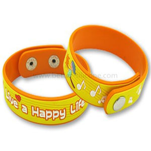 Promotional Gifts Custom Silicone PVC Bracelet pictures & photos