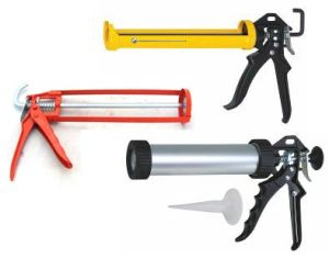 Heavy-Duty Red Handle Manual Cartridge Caulking Guns with High Quality (BS0052) pictures & photos