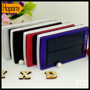 30000mAh Dual Ports Solar Power Bank Mobile Phone Charger Battery pictures & photos