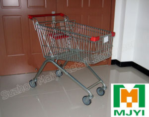 125 Liters European Style Supermarket Retail Store Shopping Trolley pictures & photos