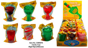 Candy Cup Shot Glass Candy (CWS976)