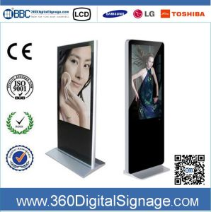 47 Inch HD Floor Type Digital Signage Media Player with Network 3G/WiFi for Commercial Buildings