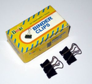 15mm Black Binder Clips (1006) pictures & photos