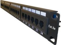 UTP Cat5e Patch Panel 24 Port (LMS-245C)