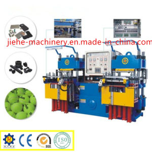Double Station Mechanical Type Rubber Vulcanizing Machine Made in China pictures & photos