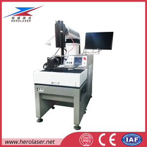 High Precision 100 Million Flashes Xenon Lamp 1mm Stainless Steel Laser Welding Machine pictures & photos