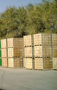 China Exporting Bulk Packed Tomato Paste in 1000L Wooden Bins