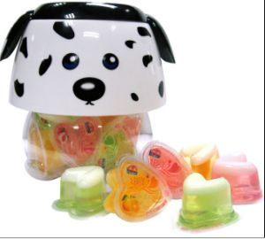 Fruit Jelly 648g Heart Shape-Dog Jar