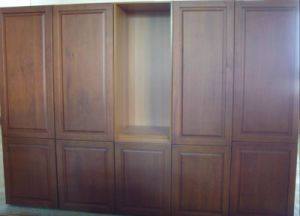 Maple Solid Wood Pantry Cabinets pictures & photos