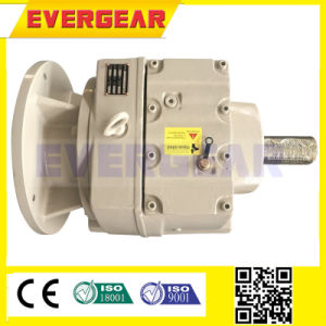 R Helical Flange Input Horizontal Mounted Gearbox pictures & photos