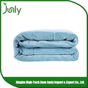 Warm Lightweight Highquality Blue Microfiber Blanket Inexpensive Blankets