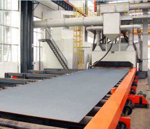 Shot Blasting Machines with Roller Conveyor pictures & photos