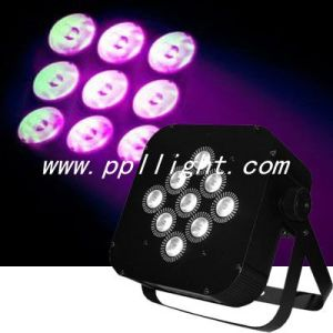 Battery Wireless PAR Light/ LED Flat PAR Light/ Flat PAR pictures & photos