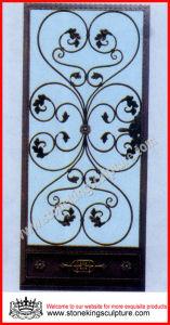 Wrought Iron Entrance Door pictures & photos
