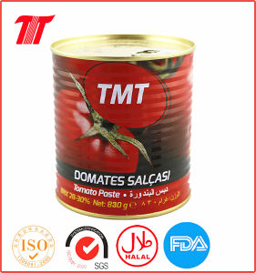 Canned Tomato Paste-830g Tmt Brand pictures & photos