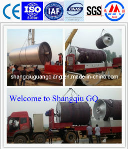 Use Waste Tyre to Oil Recycling Machine