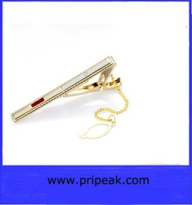 Tie Clips with Chain