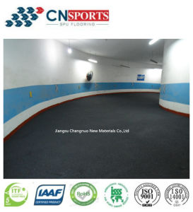 Parking Lot Flooring Coating Polyurea Slide-Resistant Layer pictures & photos