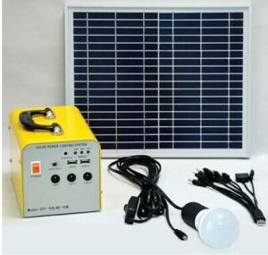 Mini High Quality Mobile Power Solar Generator (XC-10/A)
