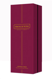 Red Colour Luxury Hard Board Wine Box (YY-W010) pictures & photos