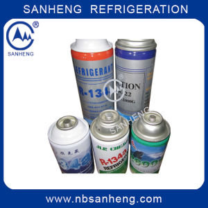 Small Can Refrigerant Gas R134A pictures & photos