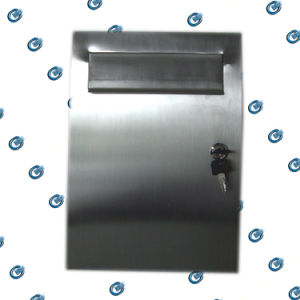 Lockable Stainless Steel Mailbox (HS-MB-002) pictures & photos