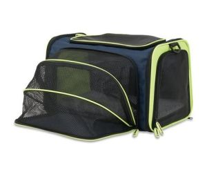 Dogs Cats Breathable Mesh Travel Shoulder Pet Carrier Tote Bag pictures & photos