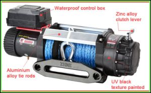9500lbs Ce Cetificated Waterproof 4X4 Winch pictures & photos
